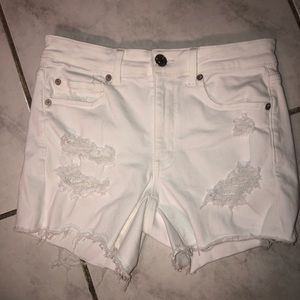 Floral lace American Eagan high waisted shorts